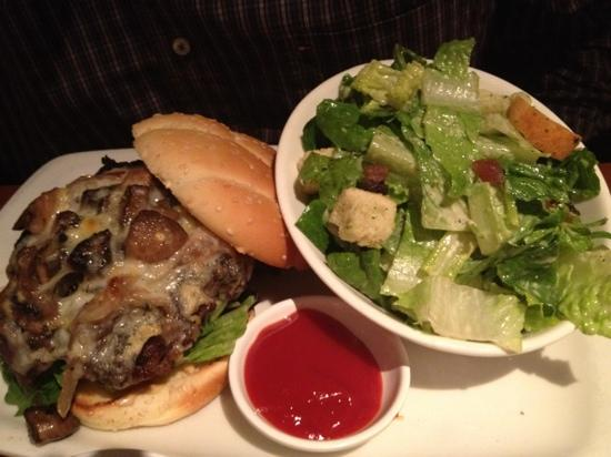 South of Temperance: temperance burger ( huge size)