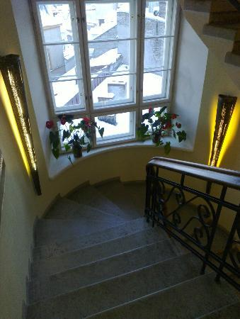 Savoy Boutique Hotel: The stairs