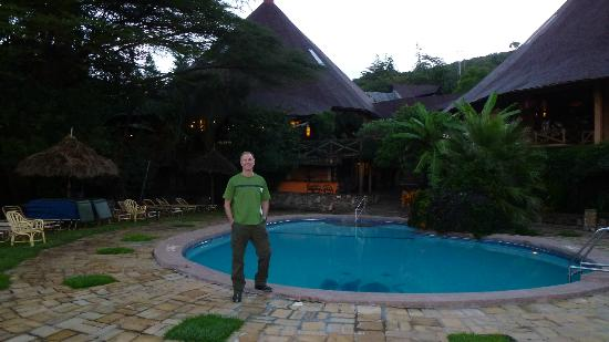 Mara Sopa Lodge: Pool deck