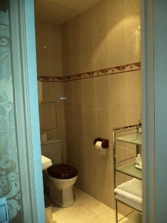 Hotel d'Angleterre, Saint Germain des Pres: Hemingway bathroom