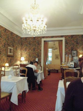 Hotel d'Angleterre, Saint Germain des Pres: Breakfast room