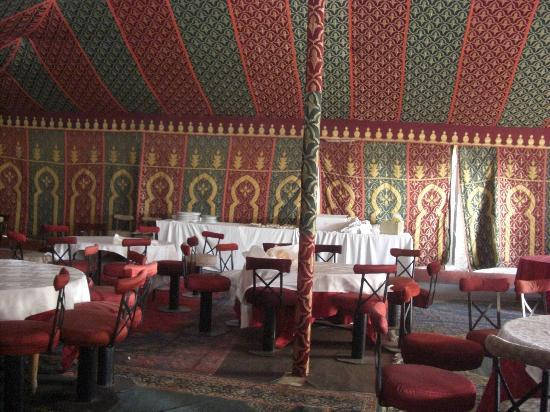 Hotel Ahlen Tangier: Banqueting Tent interior