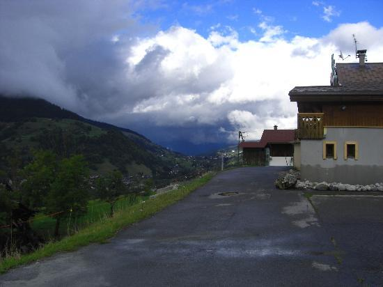 Les Bernards: Front aspect & side view of valley