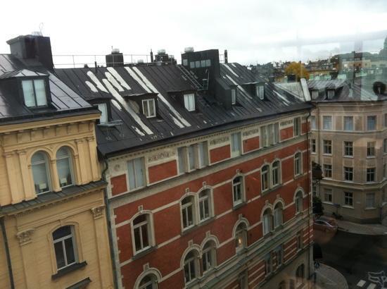 Hotel Tegnerlunden: vista dalla sala colazione 