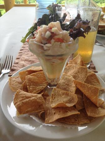 Issimo Suites Boutique Hotel and Spa: Mahi ceviche