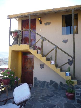 Hotel Kunturwassi Colca: our room is upstairs