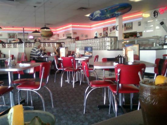 Blue Moon Diner Interior