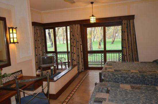 Lake Naivasha Simba Lodge : chambre