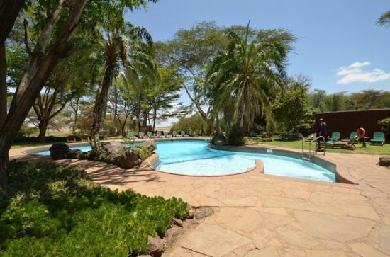 Amboseli Serena Safari Lodge: piscine