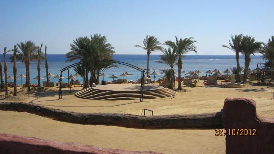 كهرمانة بيتش ريزورت: spiaggia 