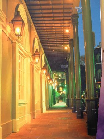 Bourbon Street: The Streets at Evening Time