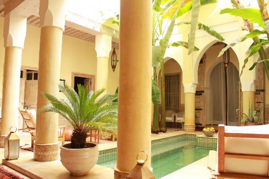 Riad Azoulay: The center of the riad