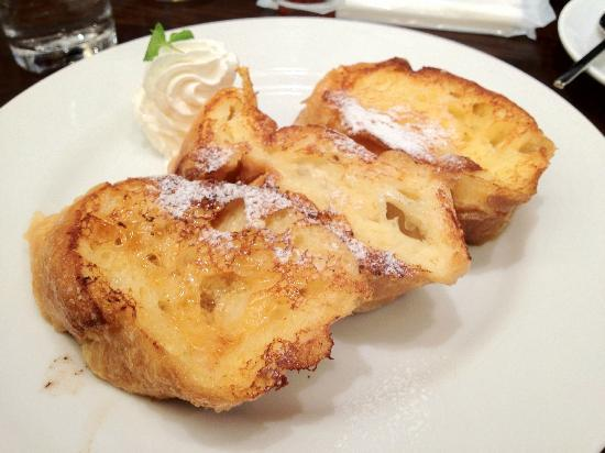The Royal Park Hotel Kyoto Sanjo: French toast from bakery on ground floor