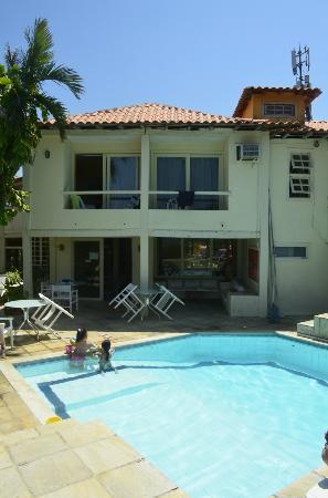 Pousada Casacolina: Area da piscina