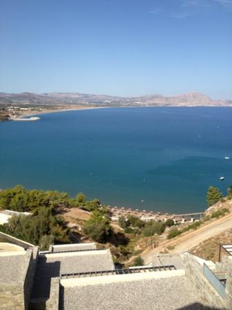 Lindos Blu: view from lounge