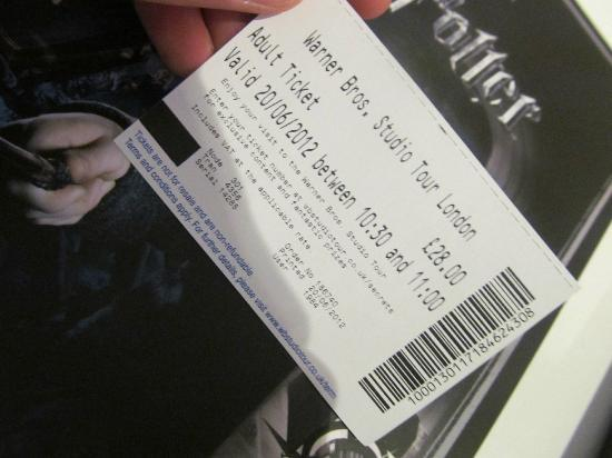 how to get harry potter studio tour tickets