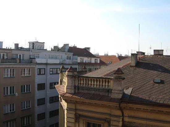 Hotel Belvedere: Вид из нашего окна на 5 этаже