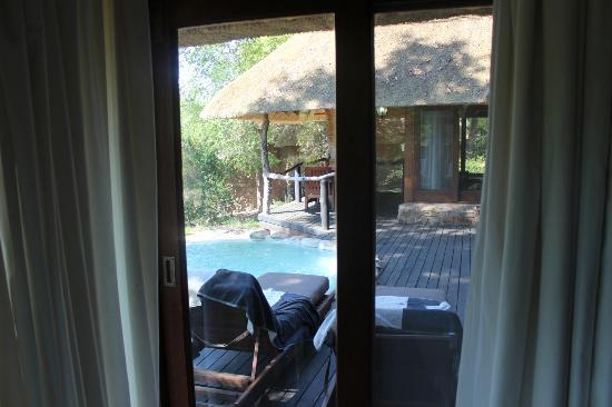 Dulini Lodge: Deck view