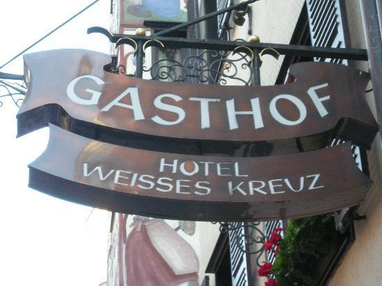 Hotel Weisses Kreuz 사진