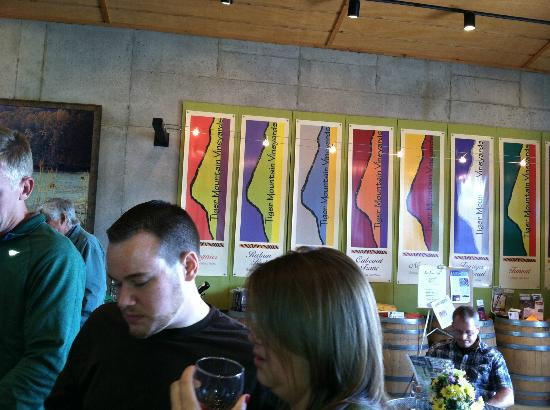 Tiger Mountain Vineyards: $5 tasting - choose your favorite.  We went home with the Viognier
