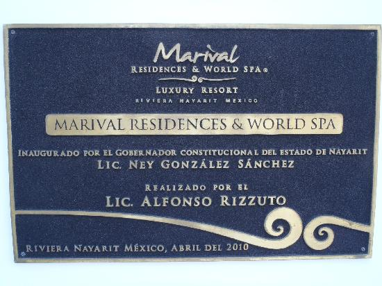 Marival Residences Luxury Resort: Out Front