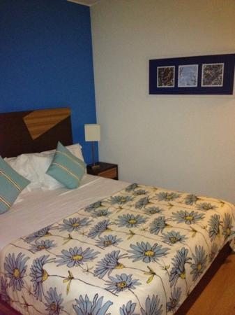 Pestana Dom Joao II: master bedroom in superior villa