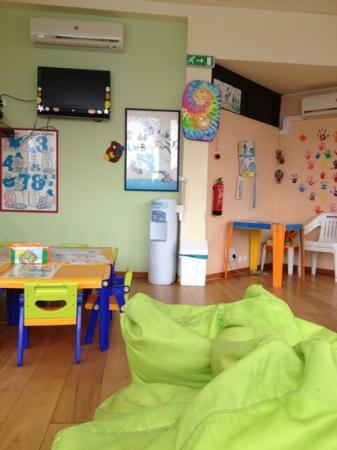 Pestana Dom Joao II: inside the kids play area