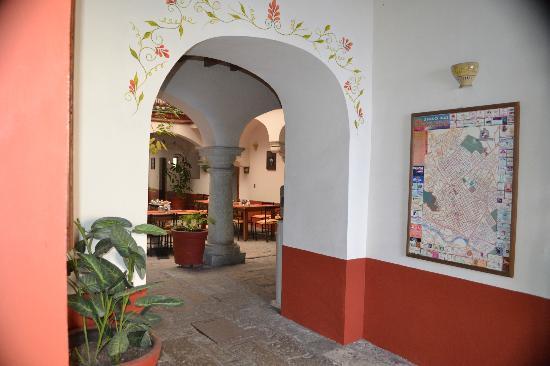 Hotel Parador San Agustin: Entrance