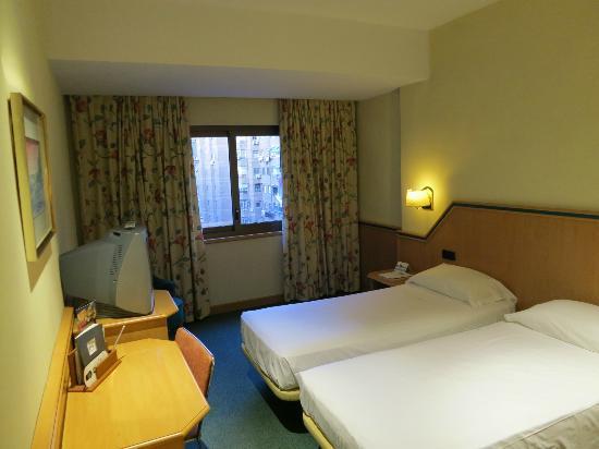 Hotel Praga: Veduta della stanza