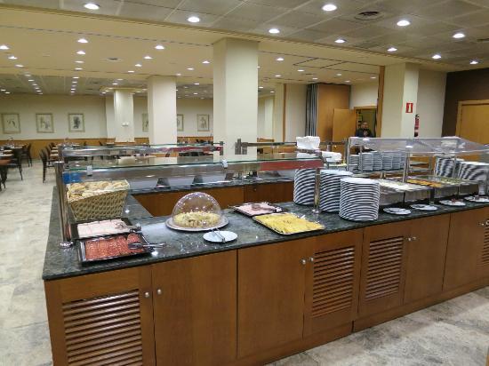 Hotel Praga: Buffet