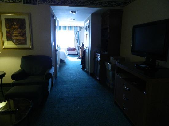 Hilton Garden Inn New York/Staten Island: Looking back through the suite from front door