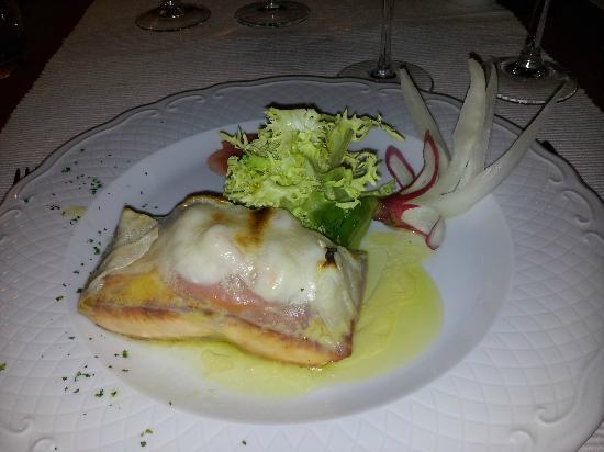 Paco Jimenez : Wrapped and baked Salmon