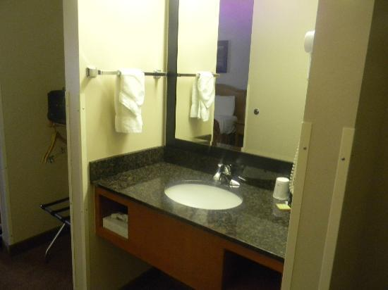 Savanna Inn & Suites: Sink Area