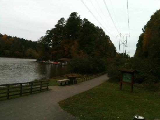 Umstead State Park: Lake view