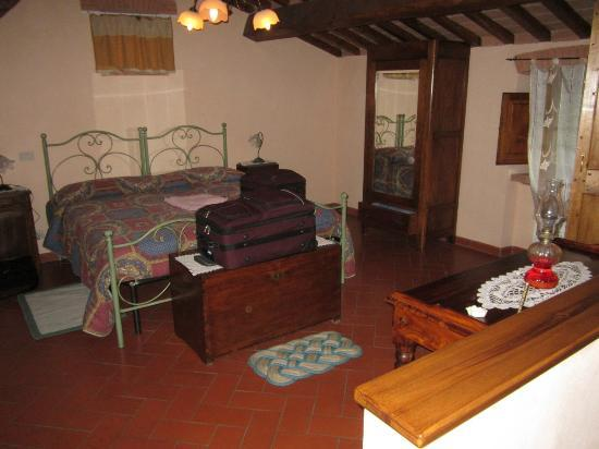 La Carreccia: bedroom