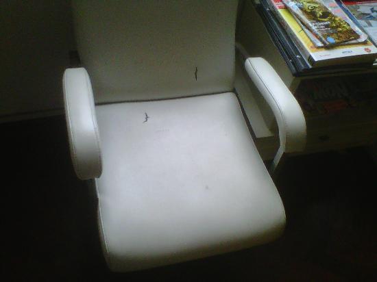 Pirwa Bed & Breakfast Inclan: Lounge chair