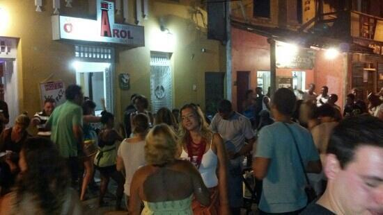 Albergue O Pharol: Samba