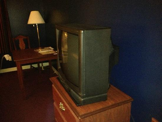 French Quarter Inn: Outdated television!!