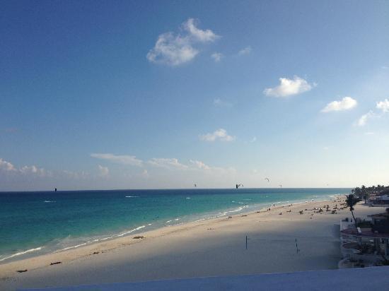 Playacar Palace: kitesurfing
