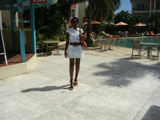 Trios Caribbean Fusion Restaurant: I am on the right track for lunch- Today, October 28 2012