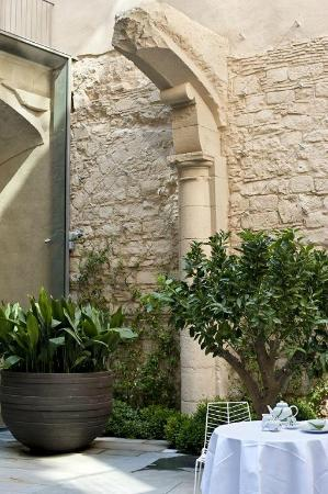 Mercer Hotel Barcelona: patio