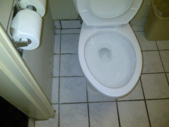 Hampton Inn Washington DC NoMa Union Station : bathroom floor