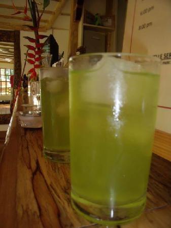 Palo Alto Bed & Breakfast: Malunggay Calamansi Juice