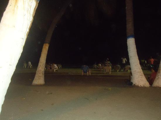 Hotel Arhuaco: rodadero de noche