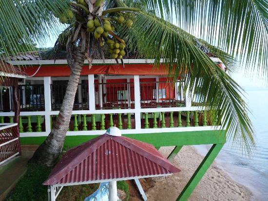 Hotel Los Delfines: Outdoor dining room