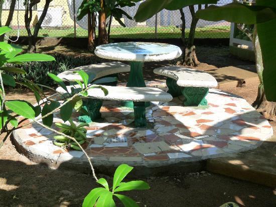 Hotel Los Delfines: In Delfines garden