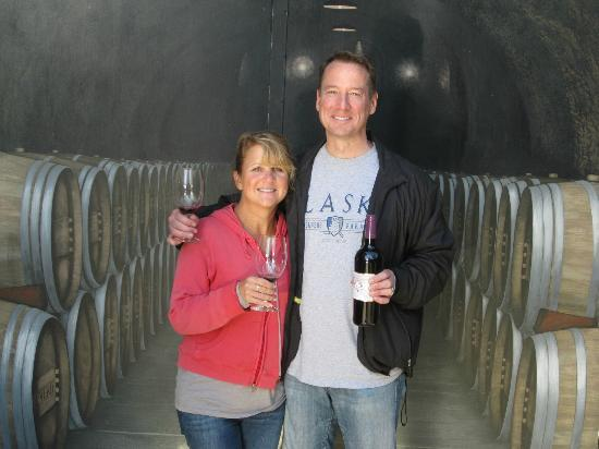 Reverie Winery: the reward after the harvest (only for us slackers)