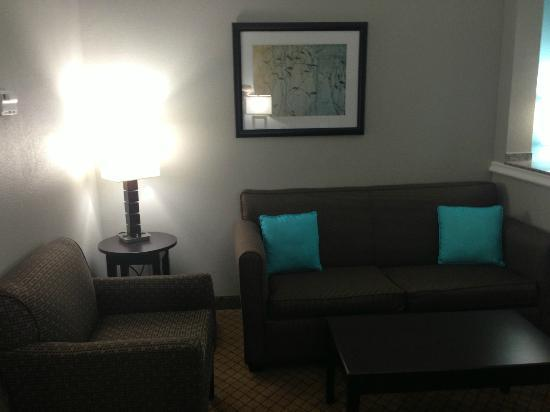 Comfort Suites at Katy Mills: Room's Sitting Area