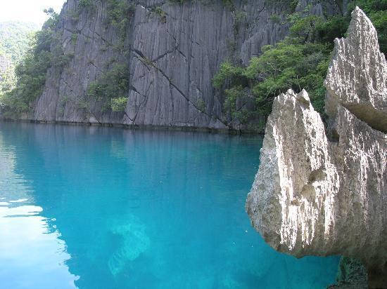Banana Island: Barracuda Lake, Coron Island, Philippines 
