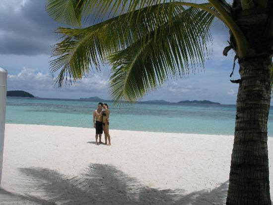 Banana Island: Malcapuya Island, Coron, Palawan, Phillipines